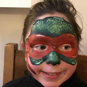 Peekaboo Face Painting Children Entertainment