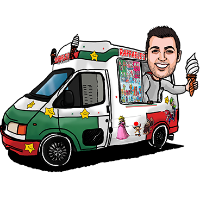 Raffaele's Ice Creams - Catering , Swindon,  Ice Cream Cart, Swindon Mobile Caterer, Swindon