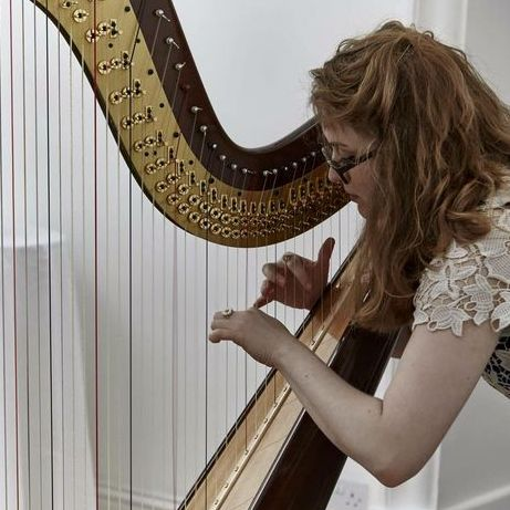 Kinga Was Harpist