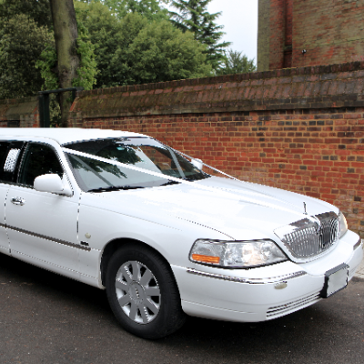 JJs Limos Wedding car