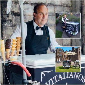 vitalianos ice cream Ice Cream Cart