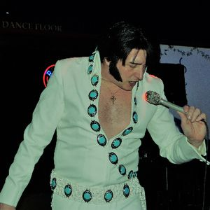 James Burrell as Elvis Presley Elvis Tribute Band