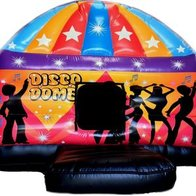 Ludlow Bouncy Disco Dome Children Entertainment