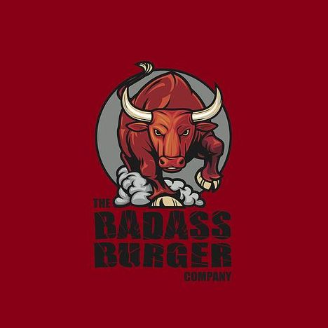 The Badass Burger Company Burger Van