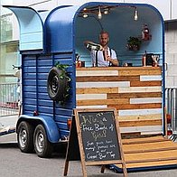 The Copper Top Bar Mobile Bar