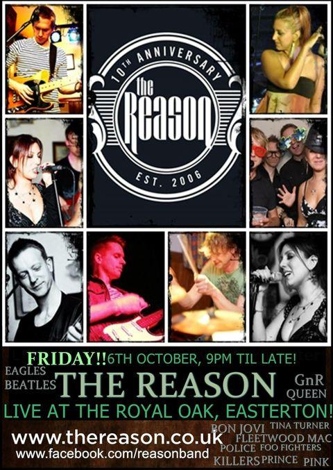 The Reason - Live music band , Salisbury,  Function & Wedding Band, Salisbury Acoustic Band, Salisbury Pop Party Band, Salisbury Indie Band, Salisbury Rock Band, Salisbury