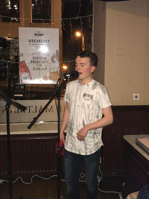 Euan Russell - Singer  - Glasgow - Lanarkshire photo