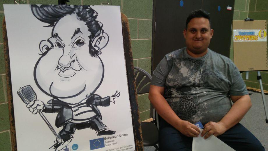 TheArtyOne - Caricaturist  - Birmingham - West Midlands photo