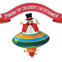 Spinning Top Children's Entertainment Bouncy Castle