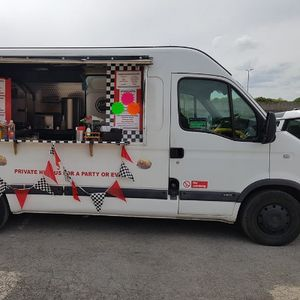 Stephanie's Spuds & Specials Burger Van