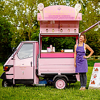 Booja-Booja Events Ice Cream Cart