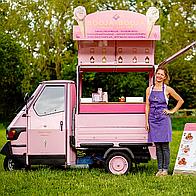 Booja-Booja Events Ice Cream Cart