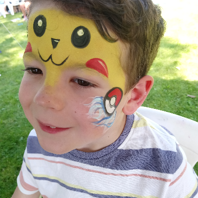 Not Just A Pretty Face Face Painter