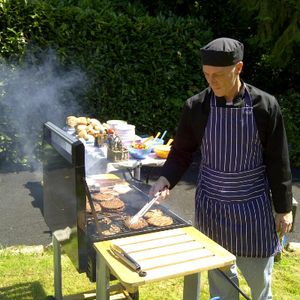 Mr T BBQ Man Event Staff