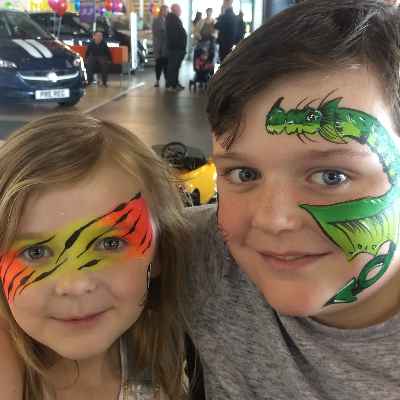 Face and Body Art Scotland Children Entertainment
