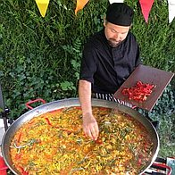 Paella Bear Private Party Catering