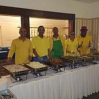 Events Team UK Caribbean Catering