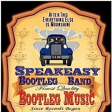 Speakeasy Bootleg Band Wedding Music Band