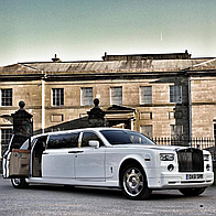 Oasis Limousines Wedding car