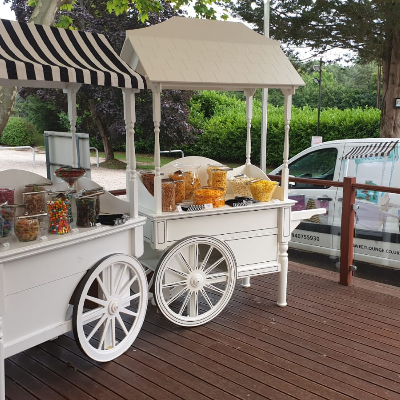 Sweet Lounge Popcorn Cart