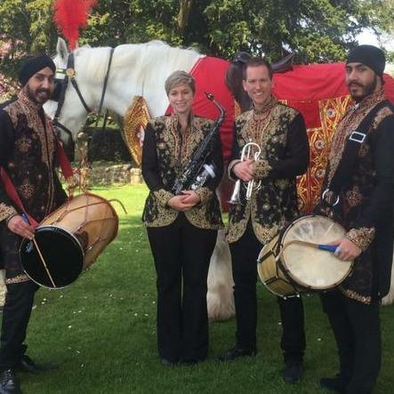dhol players in bradford/manchester/bolton/preston Wedding DJ