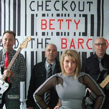 Checkout Betty And The Barcodes 90s Band