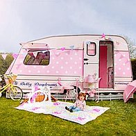 Dollydaydreams Party Caravan Bouncy Castle