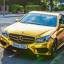 Chrome Car Hire Luxury Car