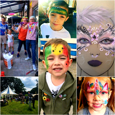 Oopsadaisy Circus and Face Painting Games and Activities