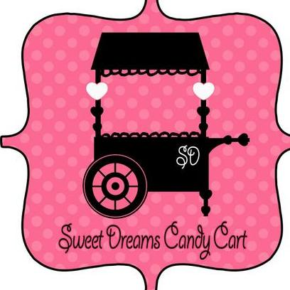 Sweet Dreams Candy Cart Sweets and Candies Cart