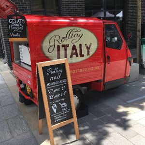 Rolling Italy - Catering , Bristol,  Wedding Catering, Bristol Ice Cream Cart, Bristol Mobile Caterer, Bristol