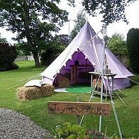 Limelife Bell Tent Party Hire Bell Tent