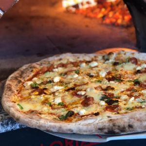 Wood Fire Dine Pizza Van