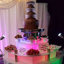 The Chocolate & Champagne Fountain Co Chocolate Fountain