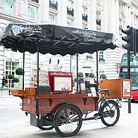 Coffee-Bike Afternoon Tea Catering