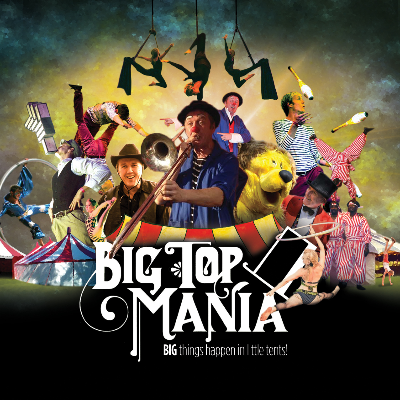 BigTopMania Stilt Walker