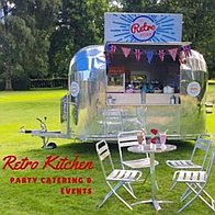 Little Retro Kitchen Party Catering & Events Popcorn Cart
