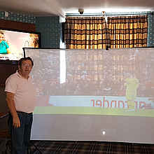 The Big Picture Merseyside Projector and Screen