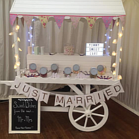 Sweet Galore Popcorn Cart