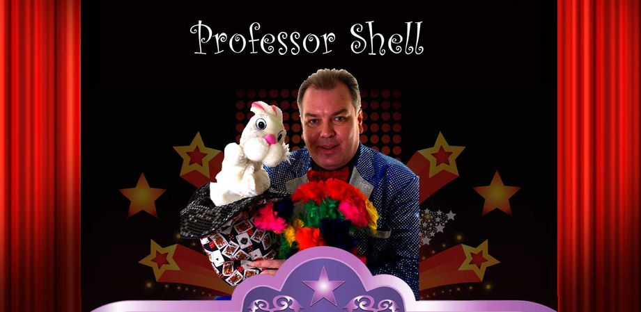 Professor Shell Children's Magical Entertainer - Children Entertainment Magician  - Sheffield - South Yorkshire photo