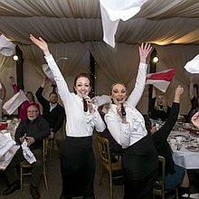 The Bel Canto Singing Waiters Singer