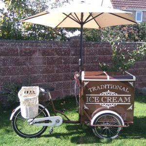 Kings Traditional Ice Cream Ice Cream Cart