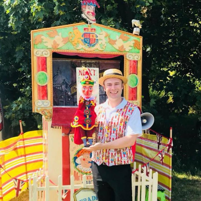 Mr Punch and Judy - Benjamin Hasker Close Up Magician