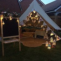 Tents and Teacup Events Bell Tent