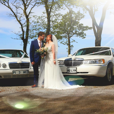 West Coast Limos Wedding car