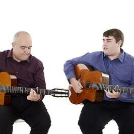 Hot Club Two Jazz Guitar Duo Function Music Band