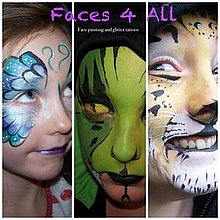 Faces4All Face Painter