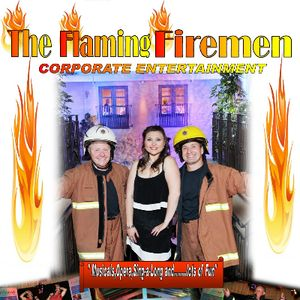 THE FLAMING FIREMEN Singing Waiters