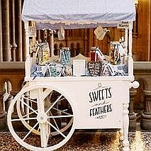 Sweets and Feathers Sweets and Candies Cart