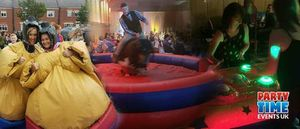 Party Time Events UK - Games and Activities , Durham,  Sumo Suits, Durham Mobile Archery, Durham Table Football, Durham